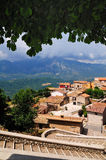Abruzzo typical village Royalty Free Stock Photography