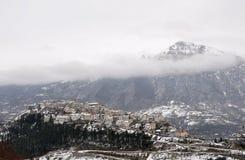 abruzzo vinter Fotografering för Bildbyråer
