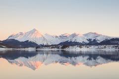 abruzzo vinter Arkivbilder
