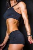 ABS femenino Foto de archivo