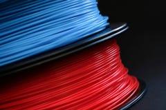 ABS klingeryt dla 3D drukarki zdjęcia royalty free