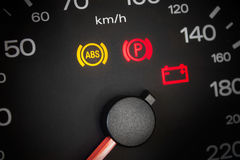 ABS light. Stock Image