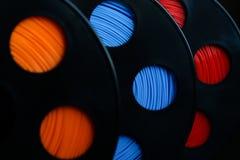 ABS plastiek voor 3D printer royalty-vrije stock afbeelding