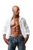 Abs Six Pack Stock Photo