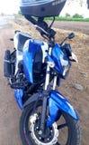 ABS 4v delle TV Apache 160 la bici nuda indiana della bestia immagine stock