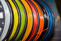 ABS wire plastic for 3d printer Stock Photos