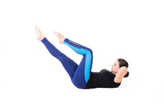 Abs workout Royalty Free Stock Photography