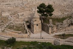 Absalom's Monument,Jerusalem Royalty Free Stock Photos