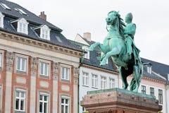 Absalon on Hojbro square in Copenhagen, Denmark Royalty Free Stock Image