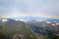 Absaroka berg Fotografering för Bildbyråer