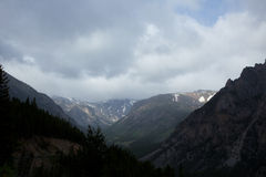 Absaroka berg Arkivfoto
