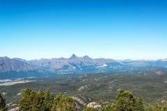 Absaroka bergskedjalandskap Royaltyfria Foton