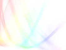 Absatact Farbe wellenförmig Lizenzfreies Stockbild