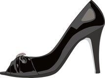 Absatz-Schuh Stockbild
