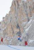 Abschüssiges Training 2 Val Gardenas Stockfotografie