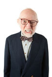 Abscheulicher älterer Mann Stockfotografie