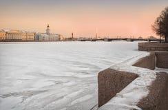Abschied zum Winter Stockfoto