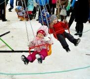 Abschied zum Winter Karneval Lizenzfreies Stockfoto
