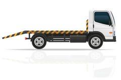 Abschleppwagen für Transportstörungen und Notautos vector IL Lizenzfreie Stockbilder