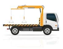 Abschleppwagen für Transportstörungen und Notautos vector IL Stockfoto