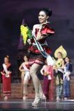 Abschließende Runde von Fräulein Supranational Thailand 2017 auf großem Stadium a Lizenzfreie Stockbilder
