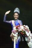 Abschließende Runde von Fräulein Supranational Thailand 2017 auf großem Stadium a Lizenzfreie Stockfotos