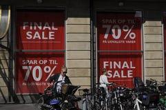 ABSCHLIESSENDE VERKAUFS-ABWEHR 70% Lizenzfreie Stockfotos