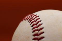 Abschluss eines Baseballs Stockfotografie