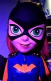 Abschluss Funko Batgirl oben Stockbild