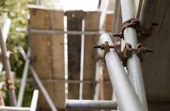 Abschluss oben des Baugerüstes Lizenzfreies Stockbild