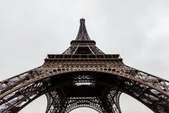 Schließen Sie oben vom Eiffelturm Stockfotografie