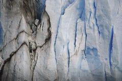 Abschluss Perito Moreno oben Stockfoto