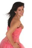 Abschlussball-Mädchen Stockfoto