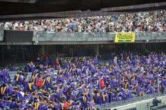 181. Abschlussfeier New- Yorkuniversitäts(NYU) Stockfotografie
