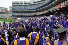 181. Abschlussfeier New- Yorkuniversitäts(NYU) Stockbilder