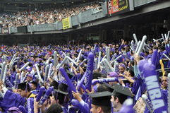 181. Abschlussfeier New- Yorkuniversitäts(NYU) Lizenzfreies Stockfoto