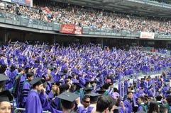 181. Abschlussfeier New- Yorkuniversitäts(NYU) Lizenzfreie Stockfotografie