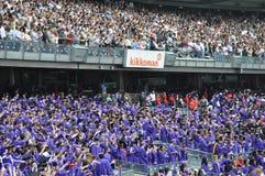 181. Abschlussfeier New- Yorkuniversitäts(NYU) Lizenzfreies Stockbild