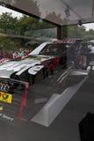 Abschnitt über ein Audi Sport-Auto lizenzfreies stockbild