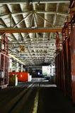 Abschnitt Maschine-bauen Werkstatt zusammen Lizenzfreie Stockbilder
