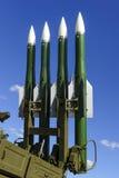 Abschussrampe der ballistischen Rakete Stockfotos