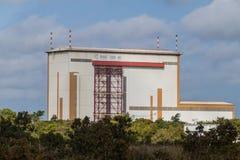Abschussrampenintegrationsgebäude in der Guayana-Raum-Mitte stockfotografie