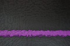 Absctrat purpurfärgad linje Arkivfoto
