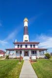 Absecon灯塔在大西洋城 免版税库存图片