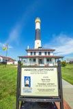 Absecon fyr i Atlantic City Royaltyfria Foton