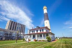 Absecon fyr i Atlantic City Royaltyfri Fotografi