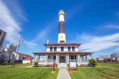 Absecon Lighthouse in Atlantic City stock image