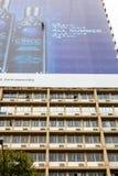 Abseiler no centro de cidade de Joanesburgo imagens de stock royalty free