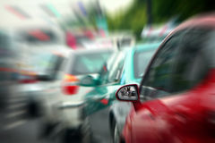 Absence d'embouteillage Image stock