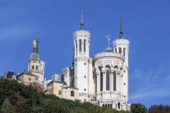 Absid av basilikan av Notre Dame de fourviere Royaltyfria Bilder